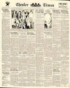 Chester Times, September 21, 1933, Page 1