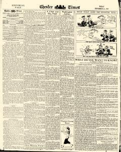 Chester Times, September 22, 1933, Page 6