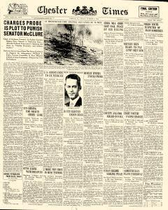 Chester Times, October 06, 1933, Page 1