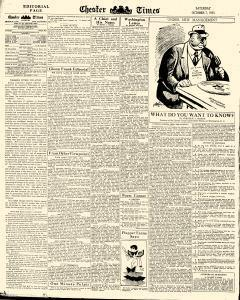 Chester Times, October 07, 1933, p. 6