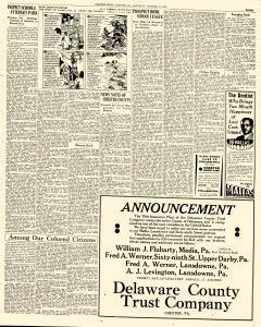 Chester Times, October 14, 1933, p. 3