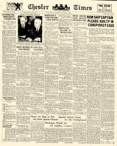 Chester Times, October 18, 1933, Page 1