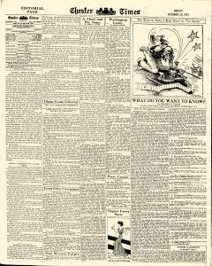 Chester Times, October 20, 1933, Page 6
