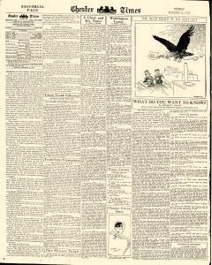 Chester Times, October 23, 1933, p. 6