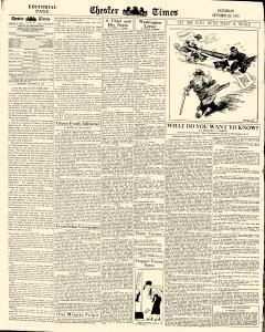 Chester Times, October 28, 1933, Page 6