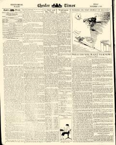 Chester Times, November 03, 1933, Page 6