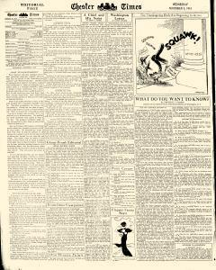 Chester Times, November 08, 1933, Page 6