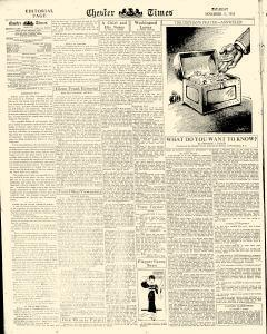 Chester Times, November 11, 1933, Page 6