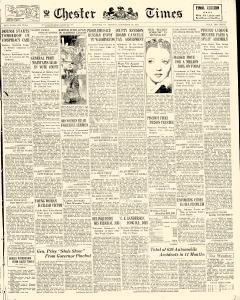 Chester Times, November 20, 1933, Page 1