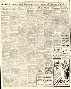 Chester Times, November 23, 1933, Page 8