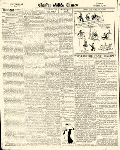 Chester Times, November 25, 1933, Page 6