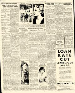 Chester Times, December 04, 1933, Page 10