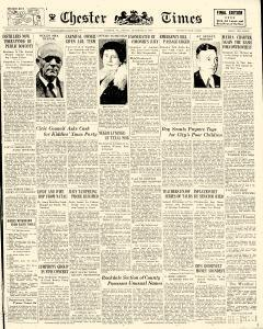 Chester Times, December 08, 1933, Page 1
