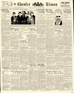 Chester Times, December 13, 1933, Page 1