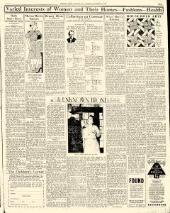 Chester Times, December 19, 1933, p. 9