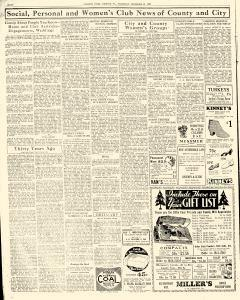 Chester Times, December 21, 1933, p. 8