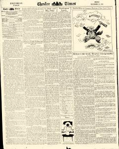 Chester Times, December 22, 1933, p. 6