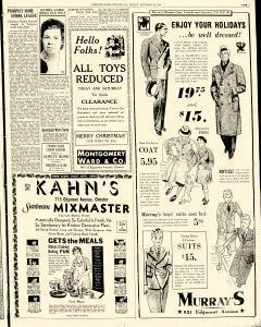 Chester Times, December 22, 1933, p. 5