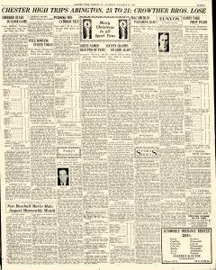 Chester Times, December 23, 1933, p. 11