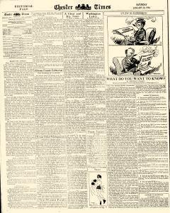 Chester Times, January 20, 1934, Page 6