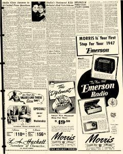 Chester Times, October 29, 1946, p. 5