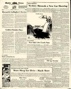 Chester Times, October 04, 1956, Page 8