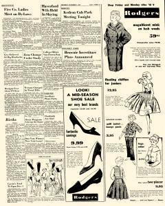 Delaware County Daily Times, November 05, 1959, Page 5