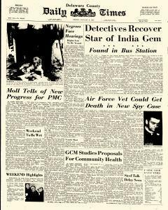 Delaware County Daily Times, January 08, 1965, Page 1