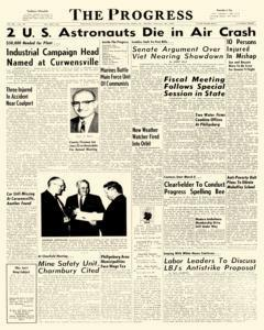 Clearfield Progress, February 28, 1966, Page 1