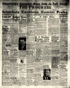 Clearfield Progress, March 18, 1966, Page 1