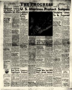 Clearfield Progress, March 26, 1966, Page 1
