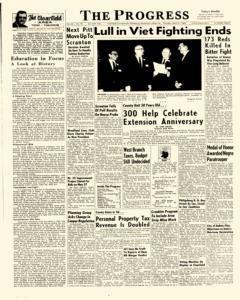 Clearfield Progress, April 21, 1966, Page 1