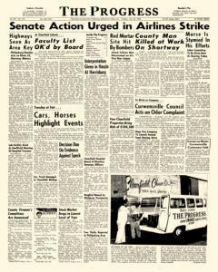 Clearfield Progress, July 26, 1966, Page 1