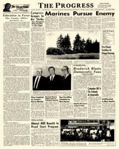 Clearfield Progress, August 11, 1966, Page 1