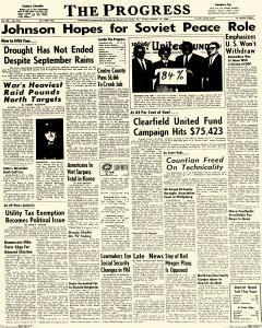 Clearfield Progress, October 14, 1966, Page 1