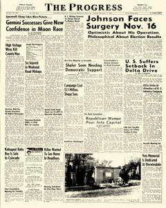 Clearfield Progress, November 14, 1966, Page 1