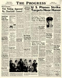Clearfield Progress newspaper archives