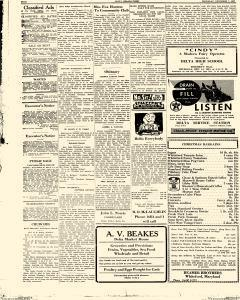 Delta Herald Times, December 07, 1933, Page 4