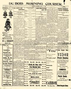 Dubois Morning Courier, July 14, 1902, Page 1