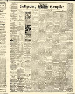 Gettysburg Compiler, February 10, 1885, Page 1