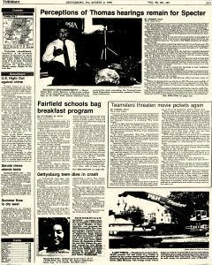 Gettysburg Times, August 04, 1992, Page 1
