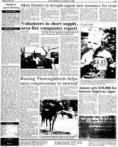 Gettysburg Times, August 16, 1999, Page 1