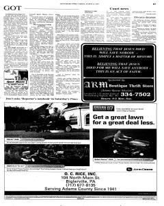 Gettysburg Times, March 23, 2007, Page 30