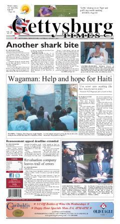 Gettysburg Times, August 07, 2010, Page 1