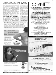 Gettysburg Times, August 07, 2010, Page 5