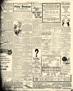 Greenville Evening Record, January 11, 1908, p. 2