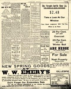 Greenville Evening Record, January 20, 1908, p. 3