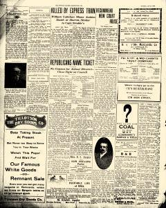 Greenville Evening Record, January 27, 1908, p. 2