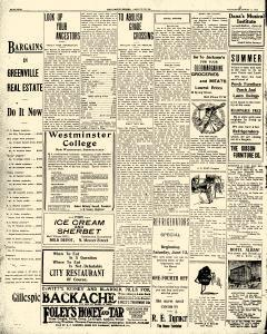 Greenville Evening Record, August 06, 1908, Page 4