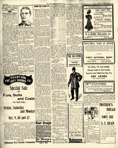 Greenville Evening Record, October 09, 1908, Page 2